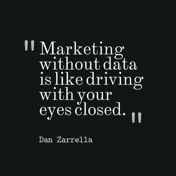 Marketing without Data